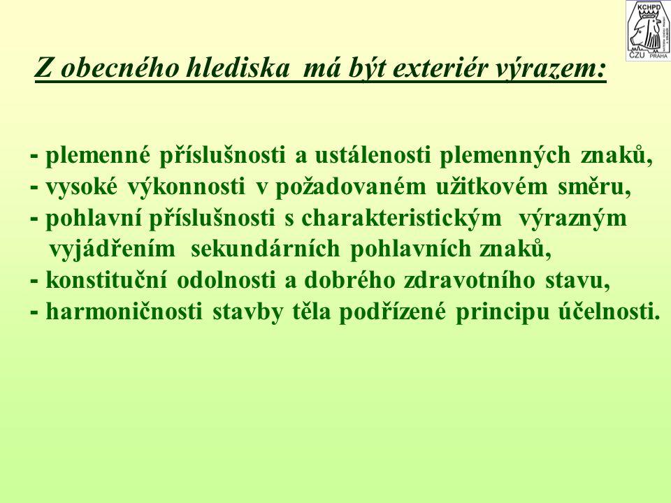 3. Zevnějšek 3. Zevnějšek Nauka o zevnějšku, tedy exterieru hospodářských zvířat pojednává o vnějších tvarech hospodářských zvířat ve vztahu k biologi