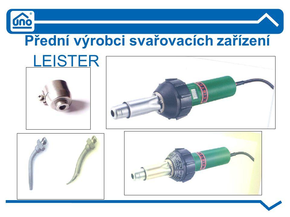 Přední výrobci svařovacích zařízení LEISTER
