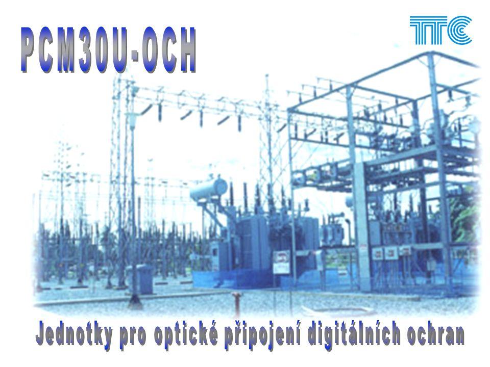 Jednotky pro optický přenos digitálních ochran SEL Siemens ABB 7SD523 7SD61.