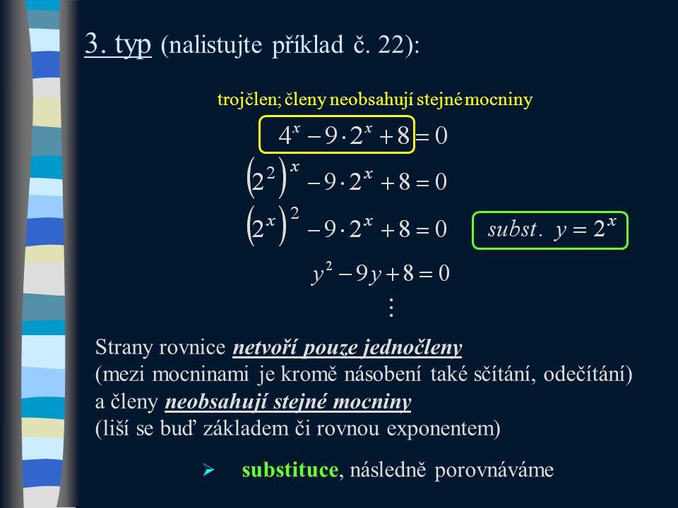 3. typ (nalistujte příklad č.