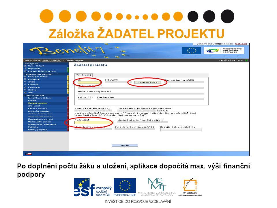 Chybné načtení názvu/adresy školy po provedení validace: - Nelze ze strany žadatele editovat.
