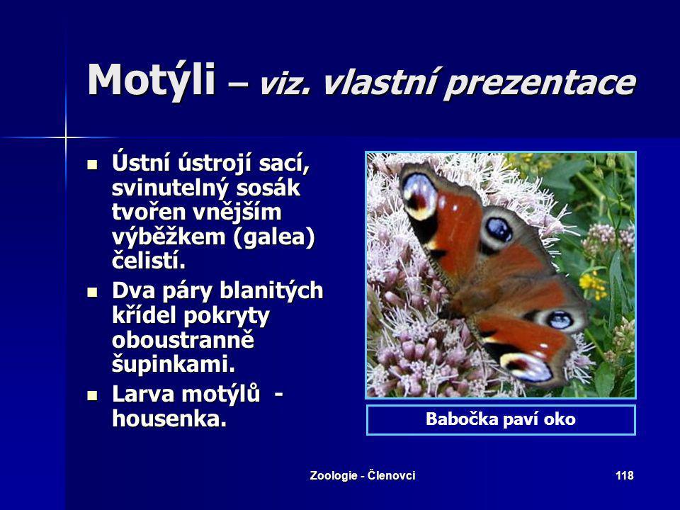 Zoologie - Členovci117 Blechy Dospělé blechy jsou vnějšími, druhotně bezkřídlými (ekto-) parazity ptáků a savců, jejichž krví se živí. Mají ze stran z