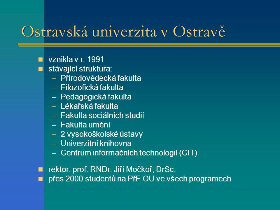 Ostravská univerzita v Ostravě vznikla v r.