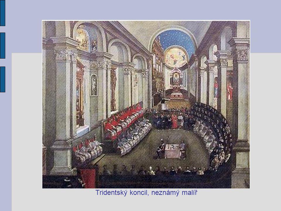 Tridentský koncil, neznámý malíř