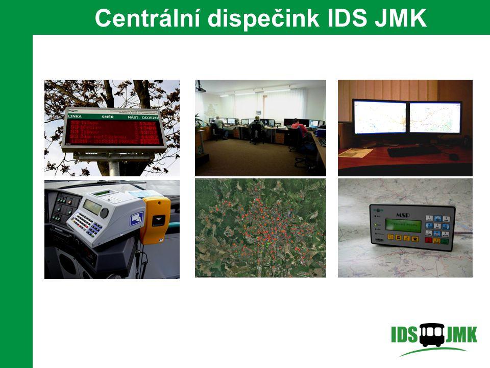 6 Centrální dispečink IDS JMK