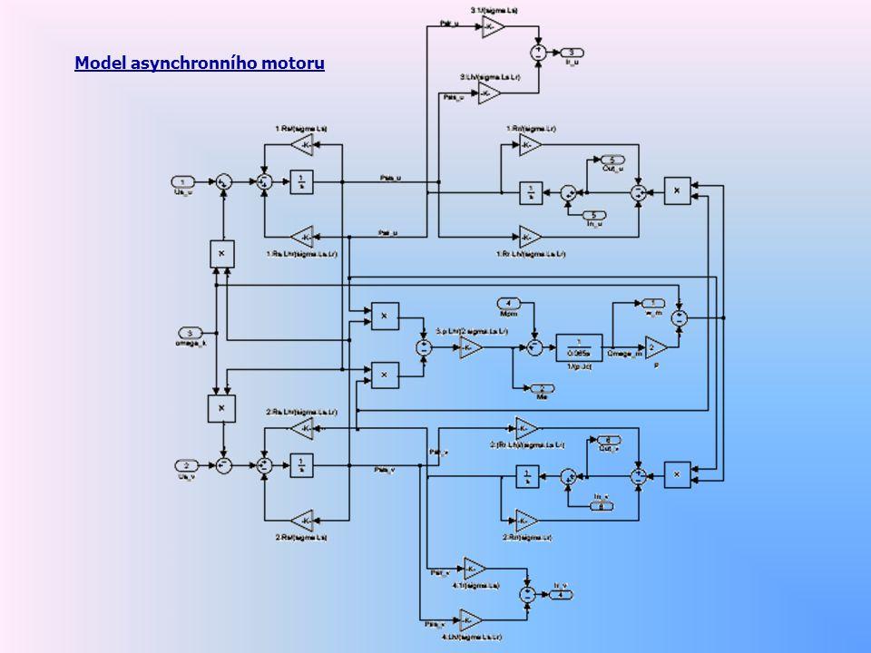 Model asynchronního motoru