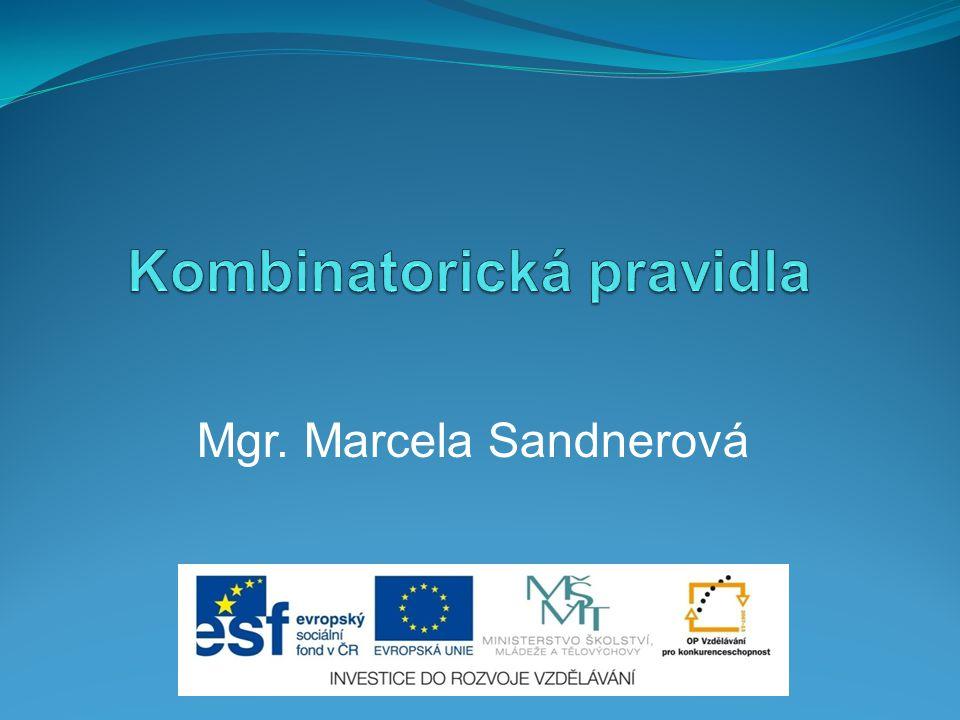 Mgr. Marcela Sandnerová