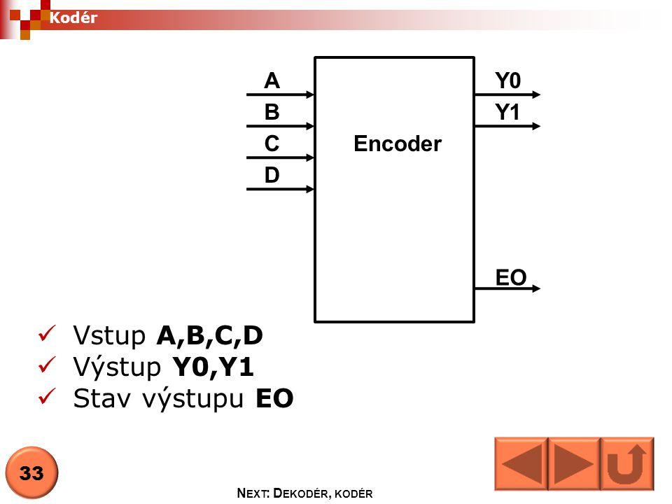 Multiplexor Mutliplexor je obvod, který v závislosti na adrese, přepojuje datové vstupy na jeden výstup.