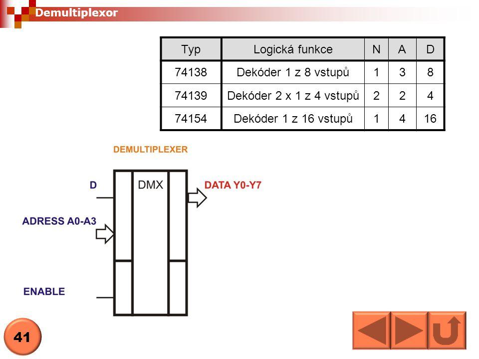 Sčítačka Sčítačka je obvod, který provádí sčítání dvou binárních čísel 42