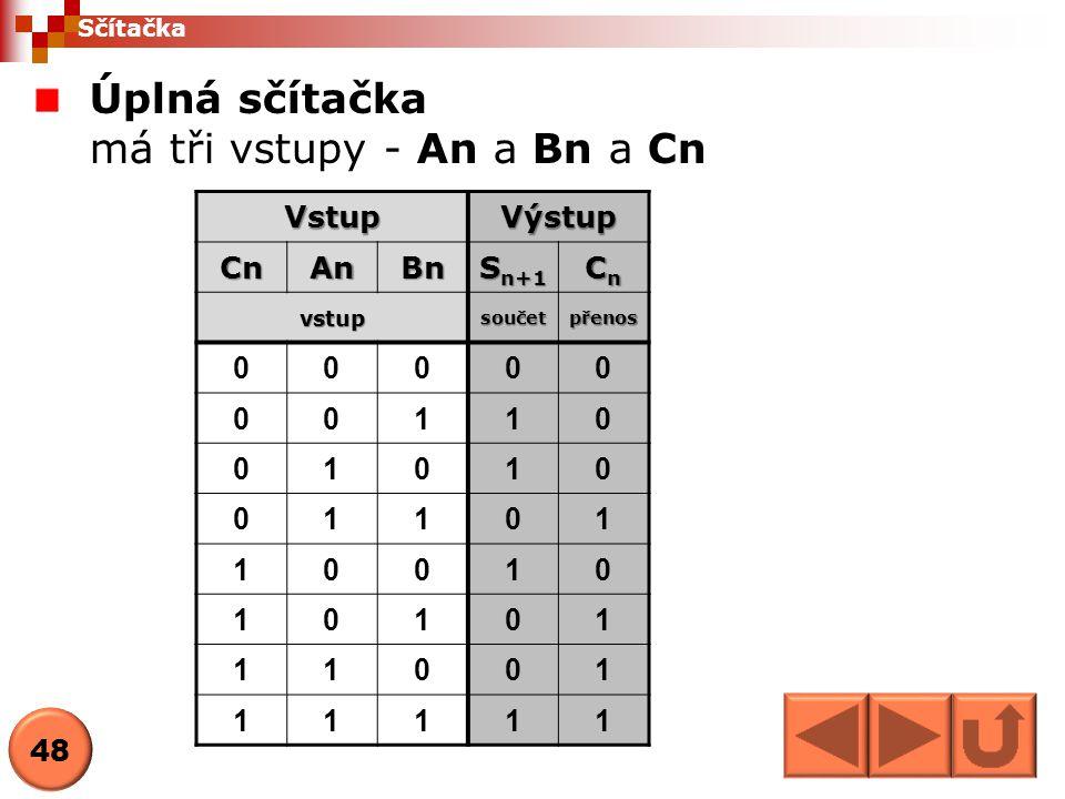 Komparátor Komparátor je obvod, který porovnává dvě binární čísla VstupVýstup ABY 000 011 101 110 Porovnání realizuje logická funkce Exklusive OR