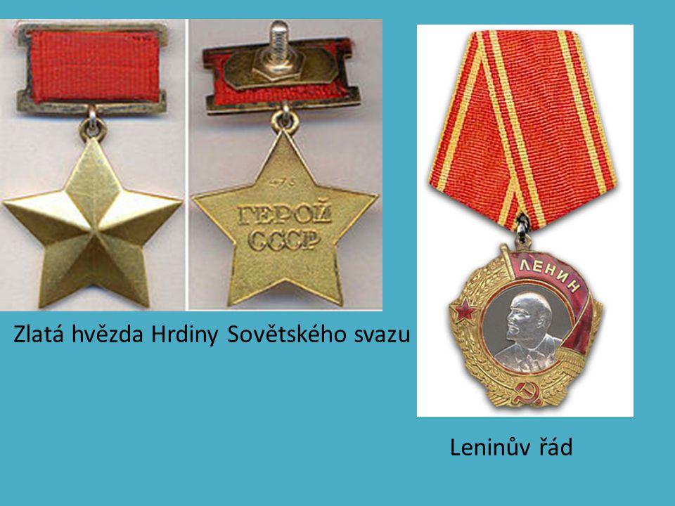 Zlatá hvězda Hrdiny Sovětského svazu Leninův řád