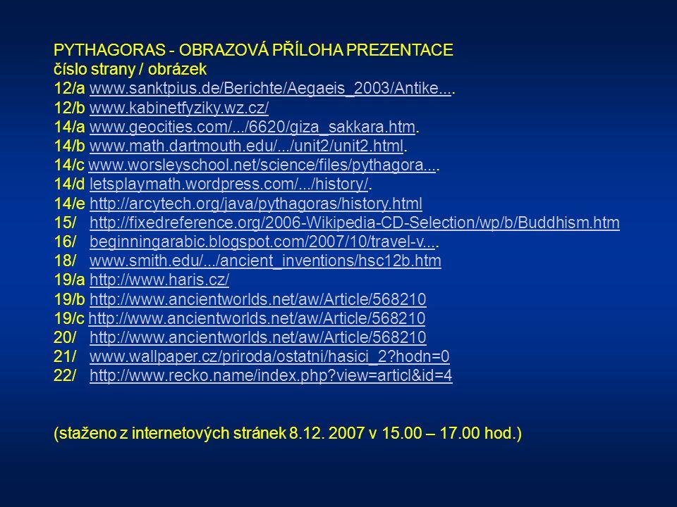 PYTHAGORAS - OBRAZOVÁ PŘÍLOHA PREZENTACE číslo strany / obrázek 3/ www.travel-to-samos.com/page.php?page_id=85.www.travel-to-samos.com/page.php?page_i