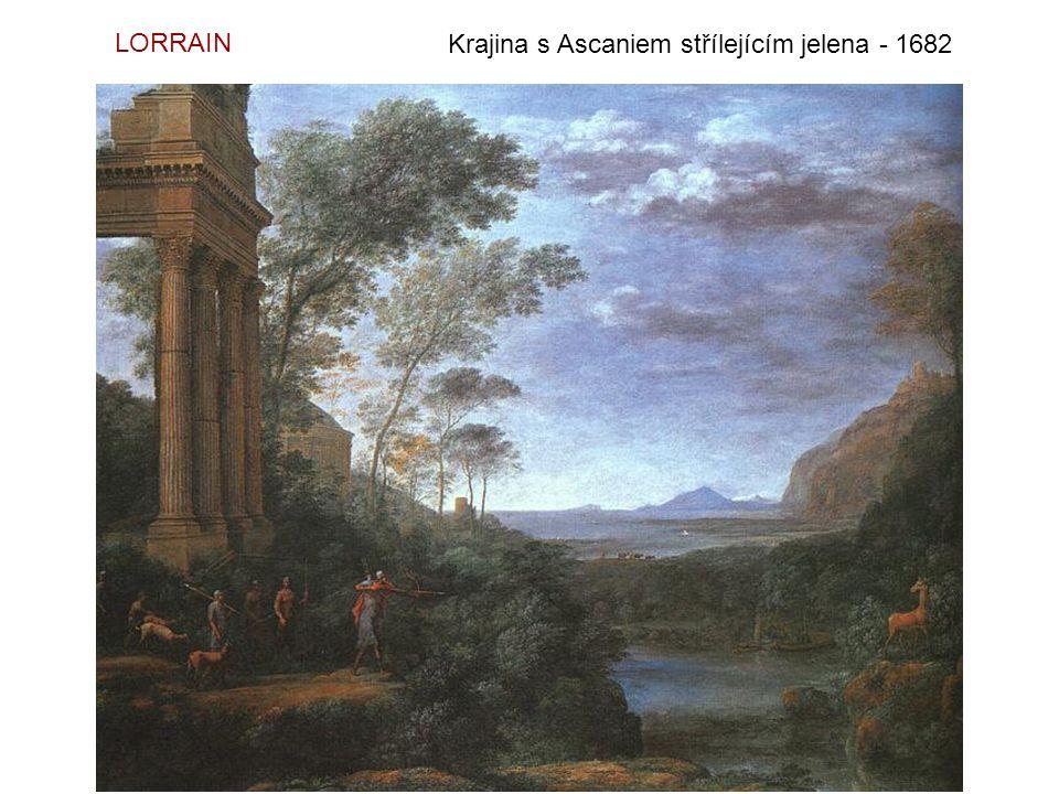 Mořský přístav – Nalodění sv. Uršuly - 1641 LORRAIN