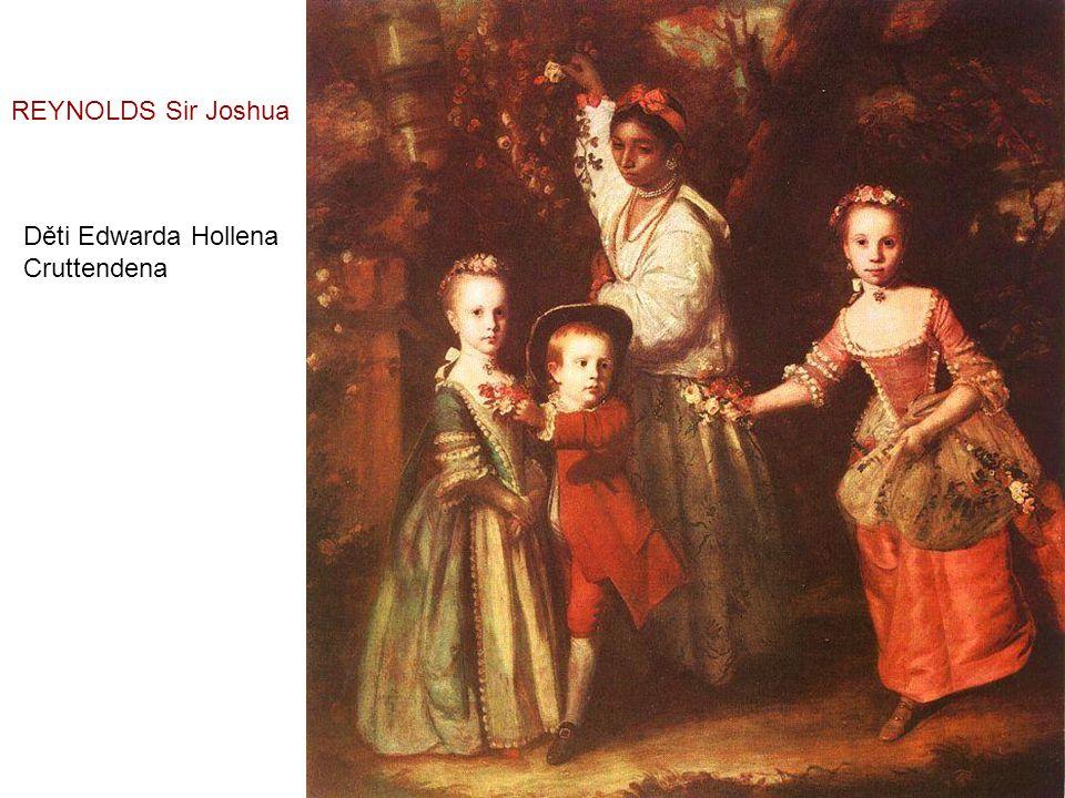 Dámy zdobící svatební věnce - 1773 REYNOLDS Sir Joshua