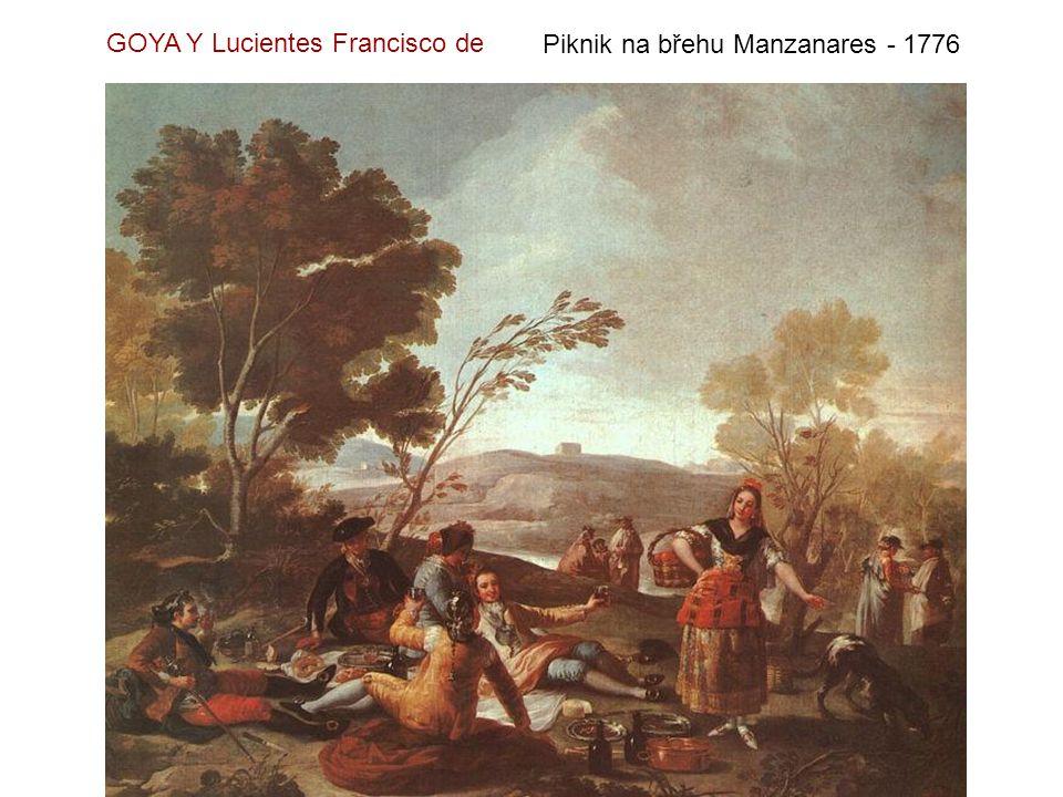 Poprava vzbouřenců 3.května 1808 - 1814 GOYA Y Lucientes Francisco de