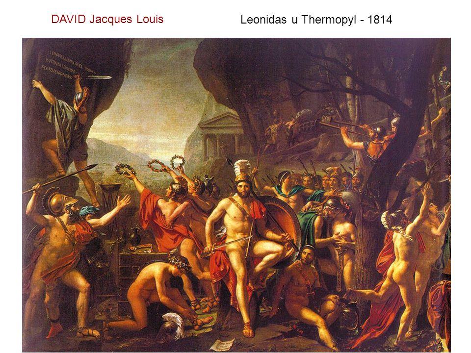 Mars odzbrojen Venuší a tři gracie - 1824
