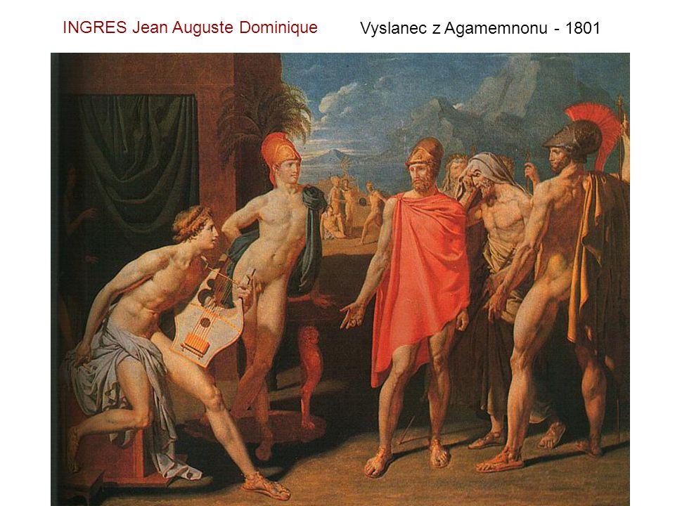 Odaliska s otrokyní - 1840 INGRES Jean Auguste Dominique