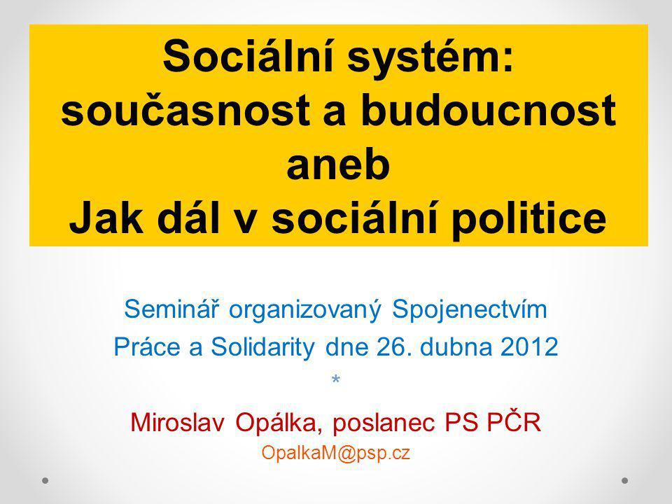 Seminář organizovaný Spojenectvím Práce a Solidarity dne 26.