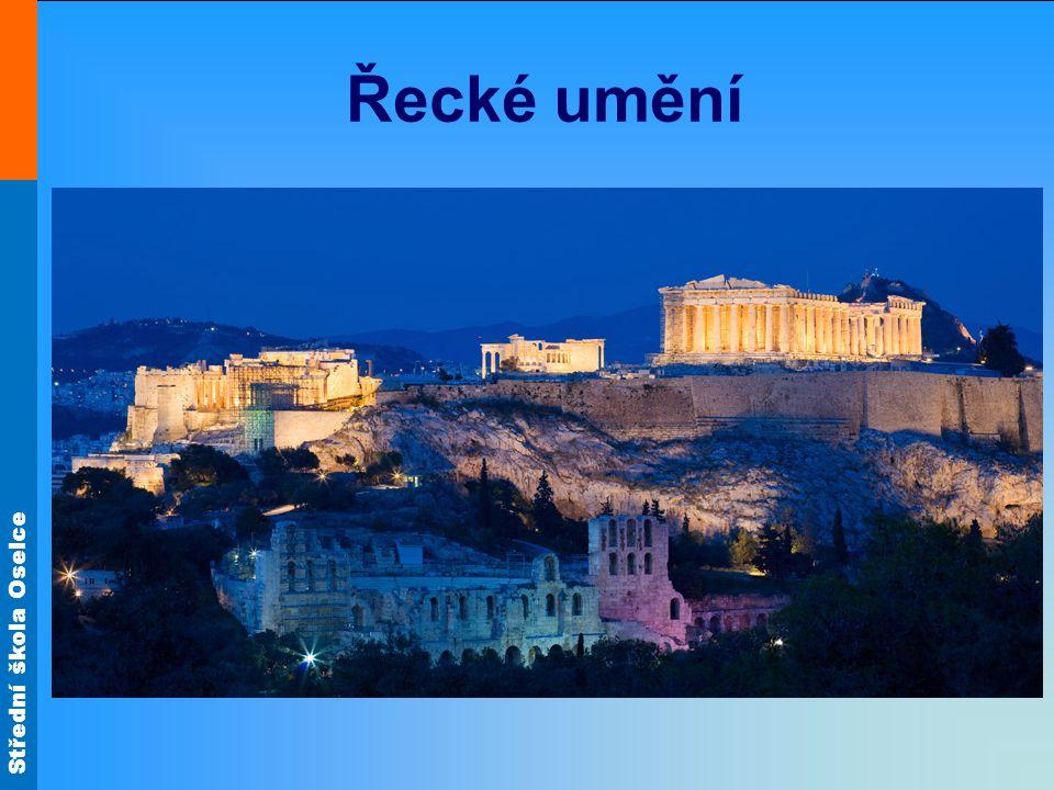Střední škola Oselce Řecké umění