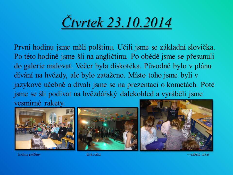 Pátek 24.10.2014 Jeli jsme do Beskyd na biofarmu.Ukazovali nám, jak se vyrábí máslo, tvaroh a sýr.