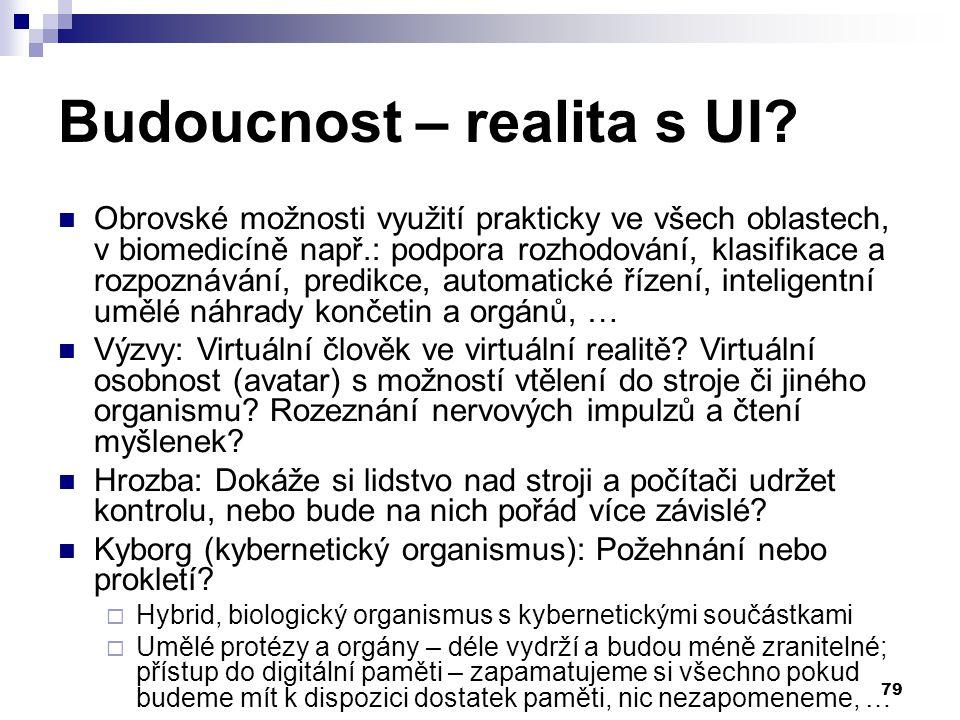 79 Budoucnost – realita s UI.