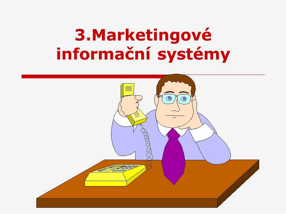 3.Marketingové informační systémy