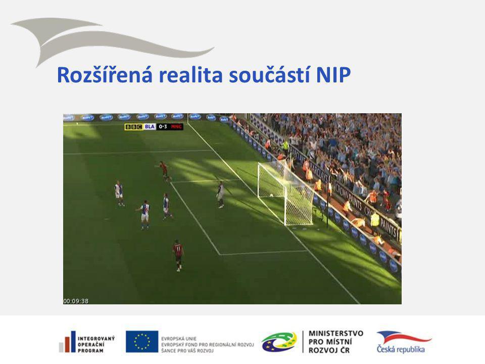 Rozšířená realita součástí NIP
