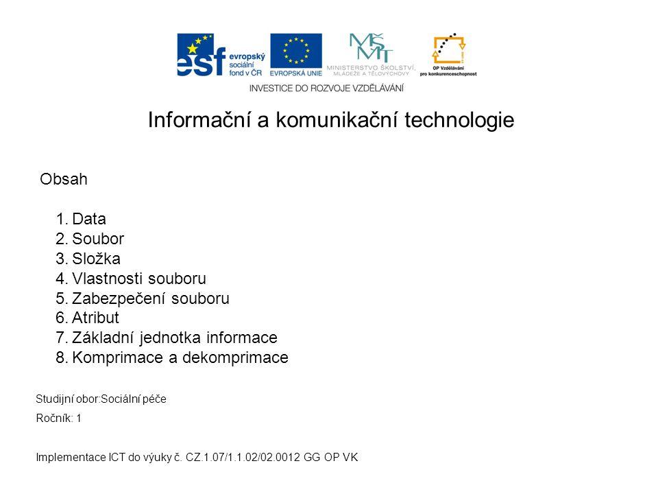 5.Zabezpečení souboru - WINDOWS Implementace ICT do výuky č.