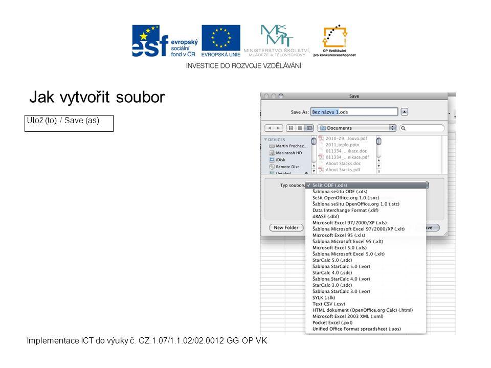 Jak vytvořit složku v MAC OS Implementace ICT do výuky č.