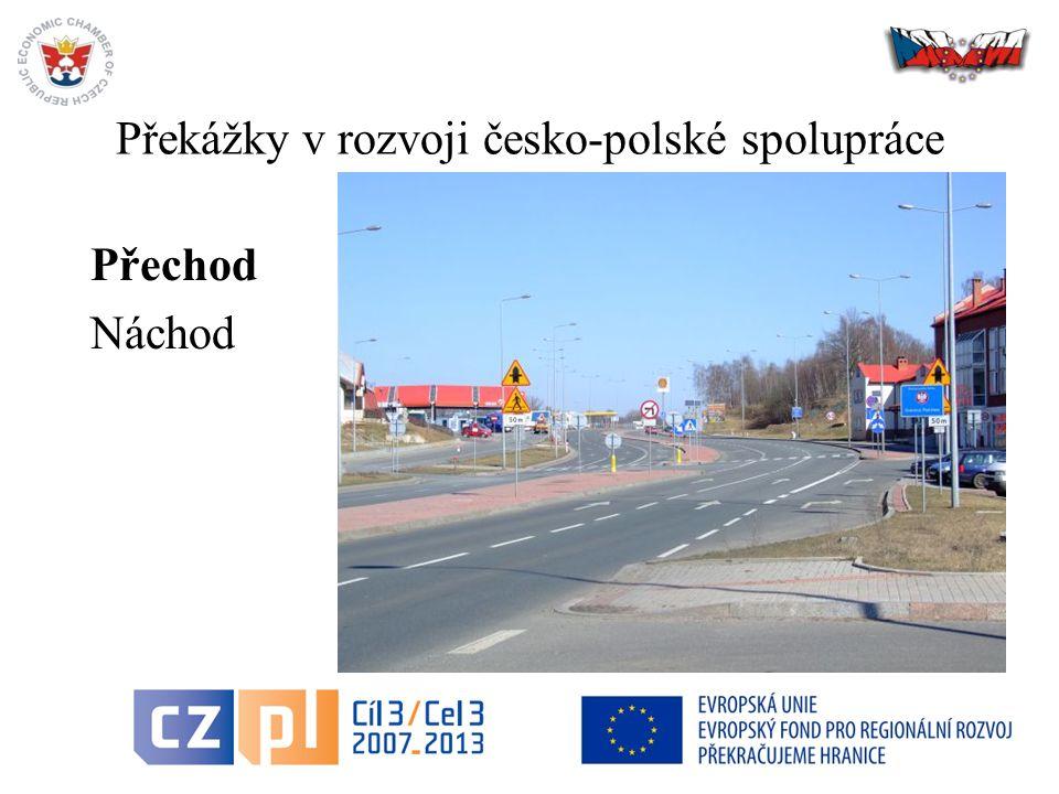 27 Překážky v rozvoji česko-polské spolupráce Přechod Náchod