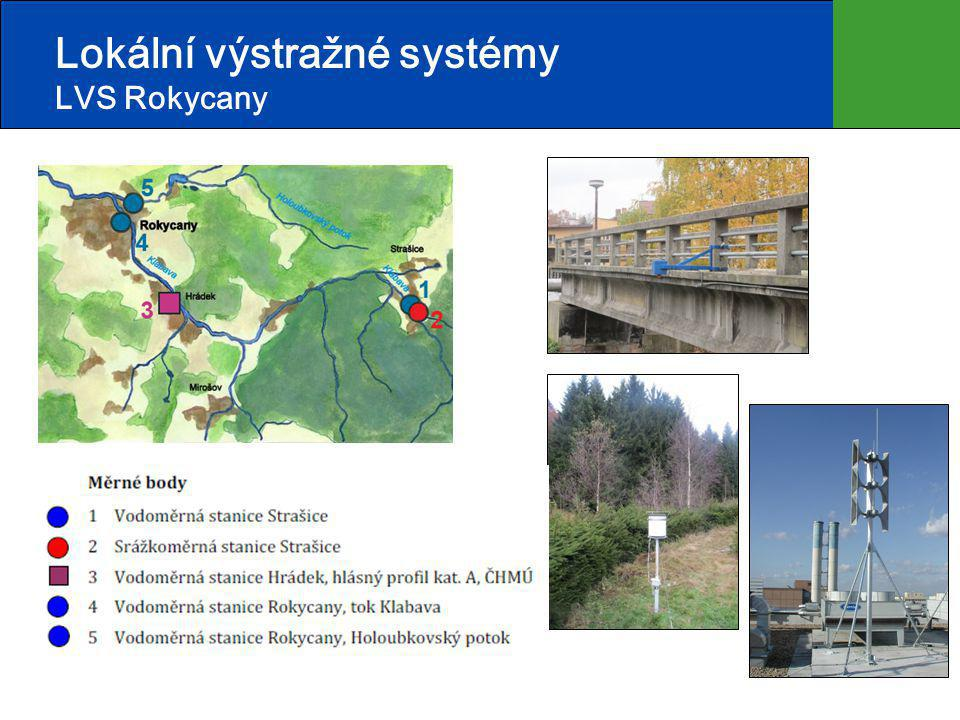 Lokální výstražné systémy LVS Rokycany