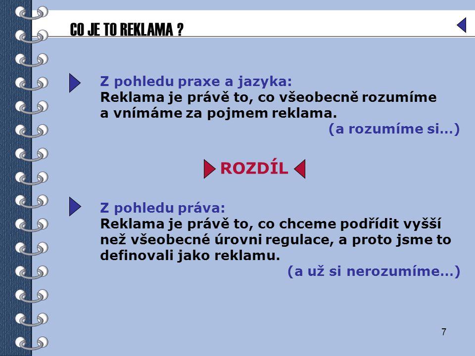8 V zákoně č.40/1995 Sb.