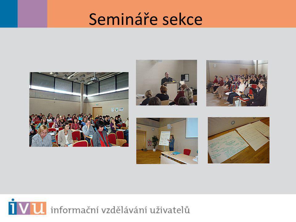 Semináře sekce
