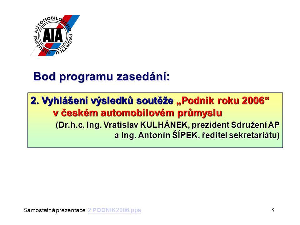 64. zasedání Rady ředitelů (Brno, 7. června 2007) Konec zasedání