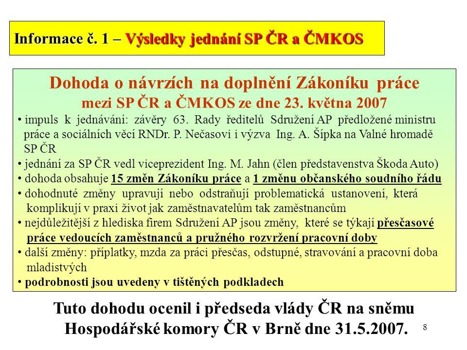 8 Informace č.