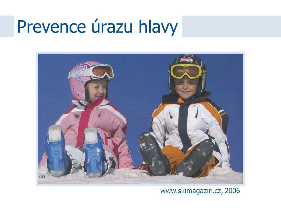 Prevence úrazu hlavy www.skimagazin.czwww.skimagazin.cz, 2006
