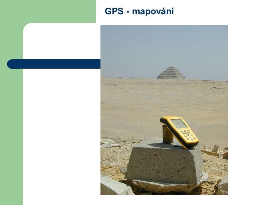GPS - mapování