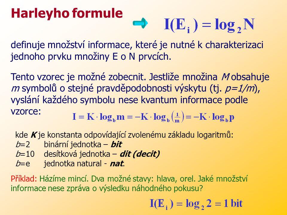 SoustavaBityVyjádření číslice ve dvojkové soustavě 1 číslice v desítkové soustavě3,32 číslice v šestnáctkové soustavě4 symbol anglické abecedy (27)4,75 karta v balíku mariášových karet5 symbol české abecedy (42)5,39 krátkodobá lidská paměť10^4 průměrná kniha10^7 paměť RAM (PC)10^8 genetická informace10^10 lidská paměť10^20 Tabulka největších informačních obsahů soustav