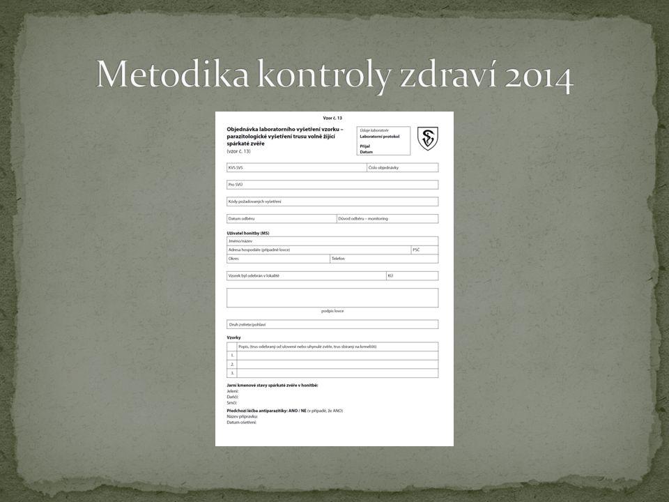 Vyšetření v roce 2013 okres Svitavy