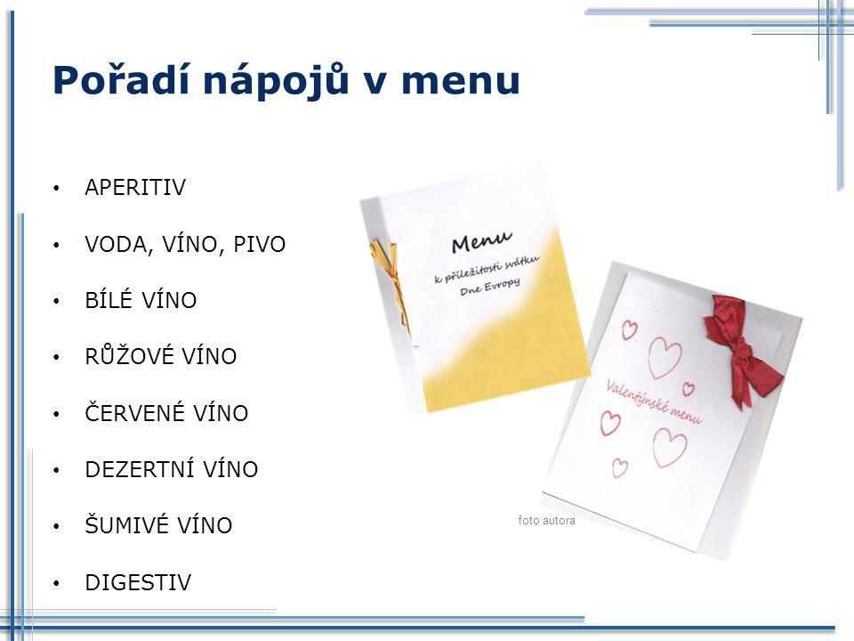 Použitá literatura: SALAČ, Gustav.Stolničení. Praha: Fortuna, 1996, 122 s.