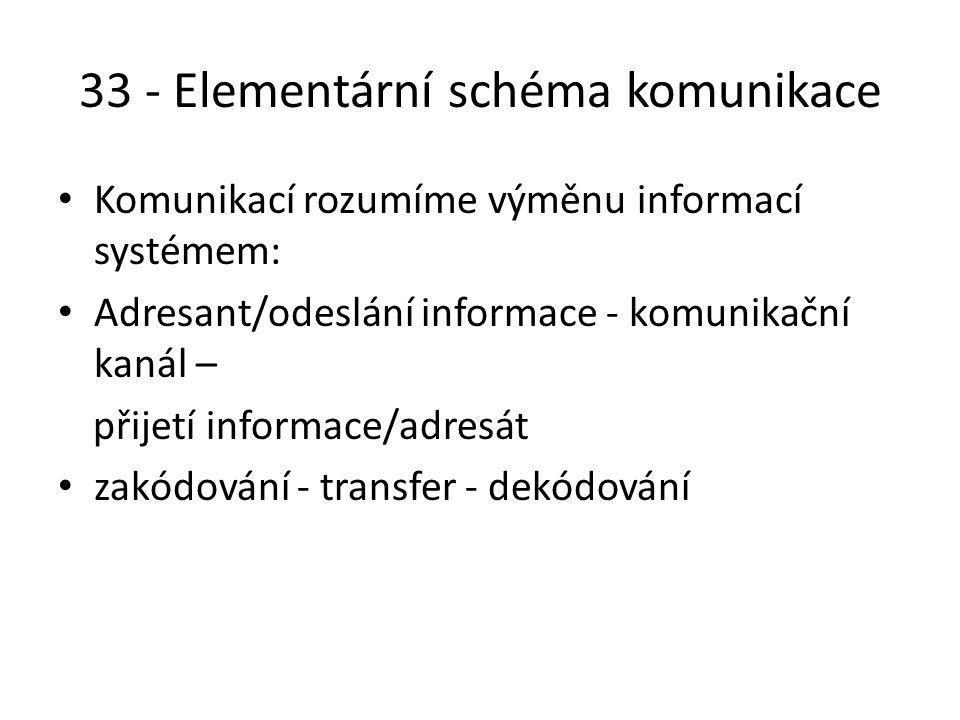 34 - Elementární množství informace Nejmenší množství informace.