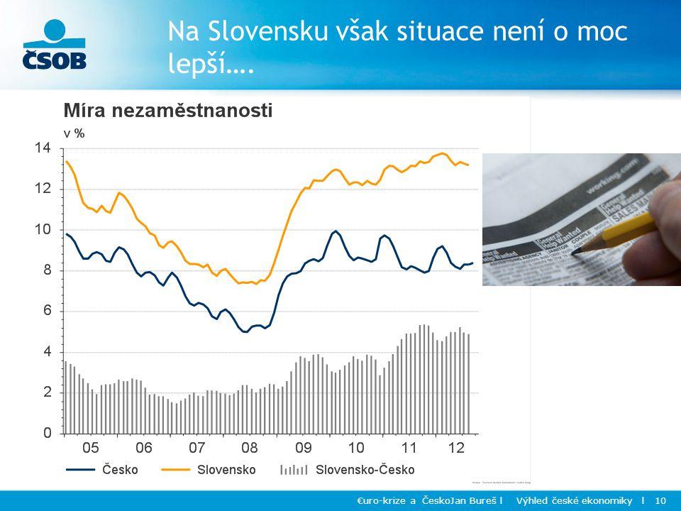 Na Slovensku však situace není o moc lepší….