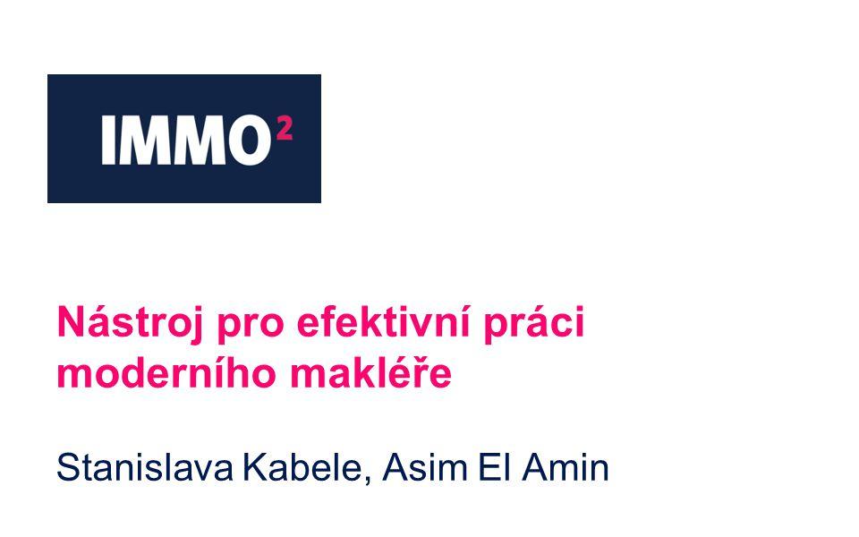 Nástroj pro efektivní práci moderního makléře Stanislava Kabele, Asim El Amin