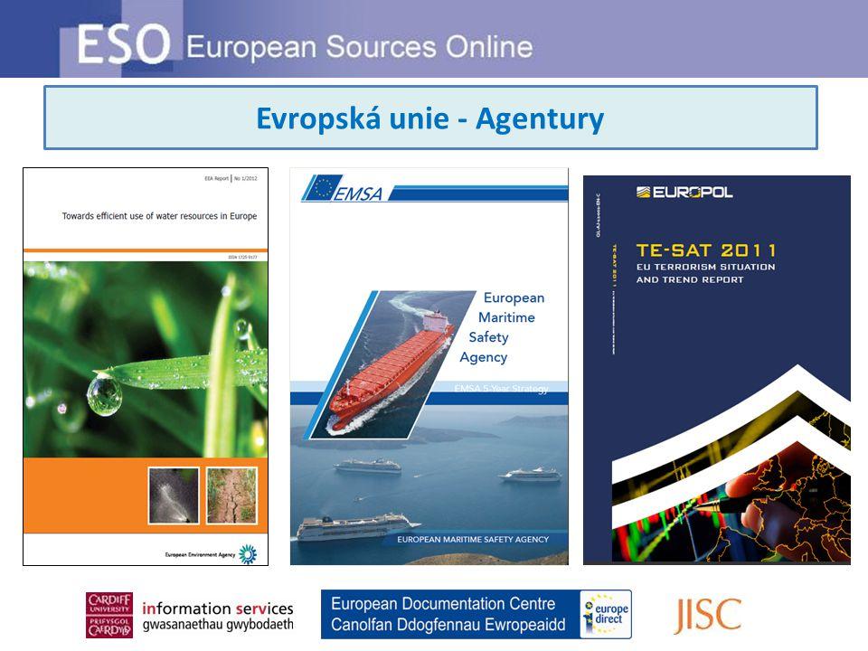 Evropská unie - Agentury
