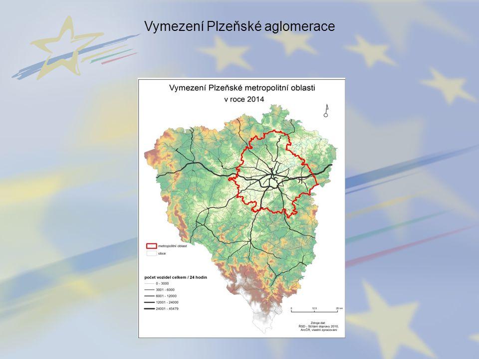 Vymezení Plzeňské aglomerace