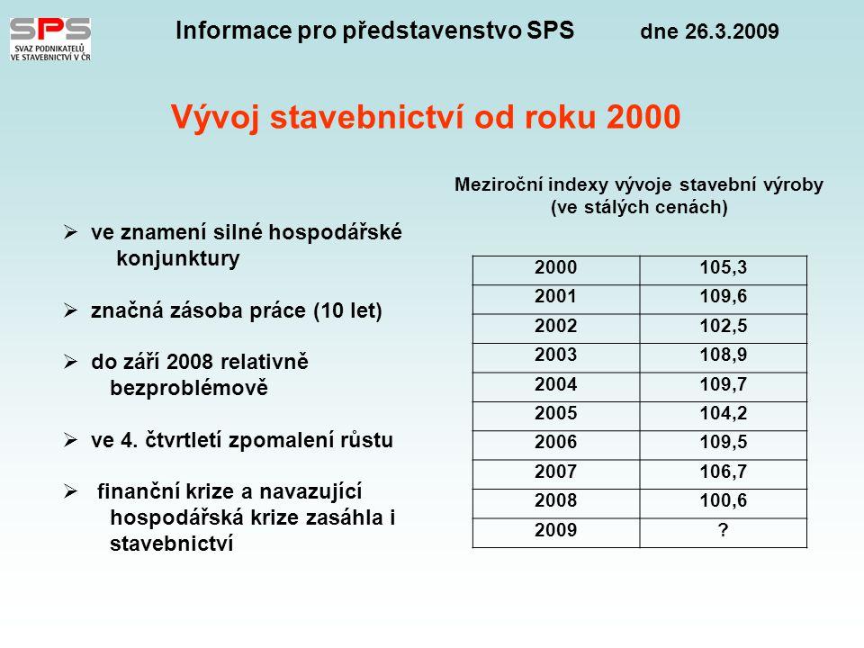 Informace pro představenstvo SPS dne 26.3.2009 Národní protikrizový plán vlády 1 – Realizovaná opatření – 15 opatření  snížení sazby nemocenského pojištění a na státní politiku zaměstnanosti  snížení daně z příjmů právnických osob (20%)  zvýšení garancí úvěrů MaS podnikům (ČMRZB – 8 mld.