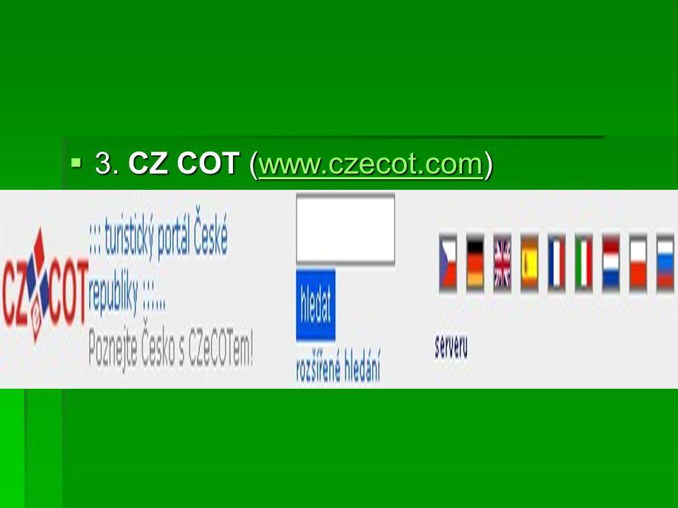  3. CZ COT (www.czecot.com) www.czecot.com