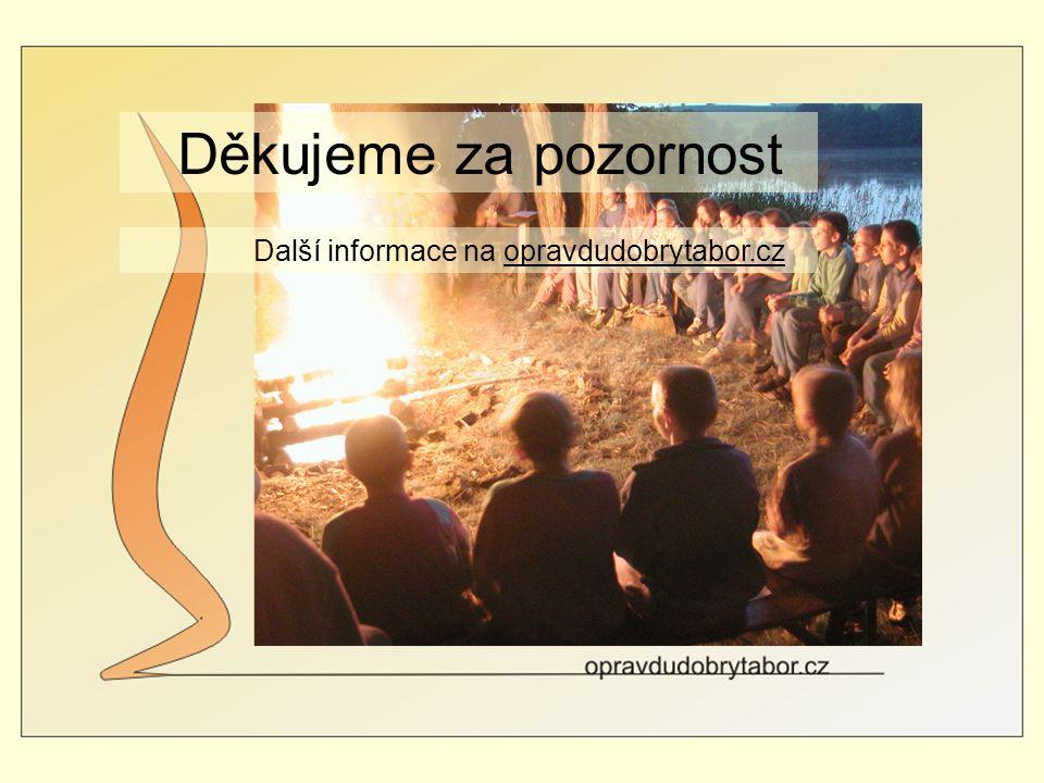 Děkujeme za pozornost Další informace na opravdudobrytabor.cz.