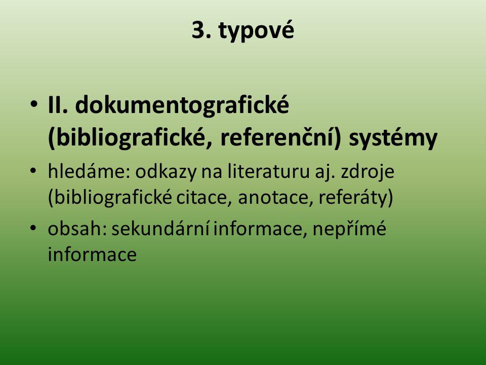 3.typové II.