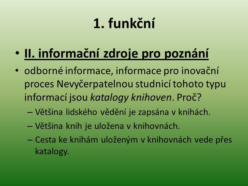 1.funkční II.